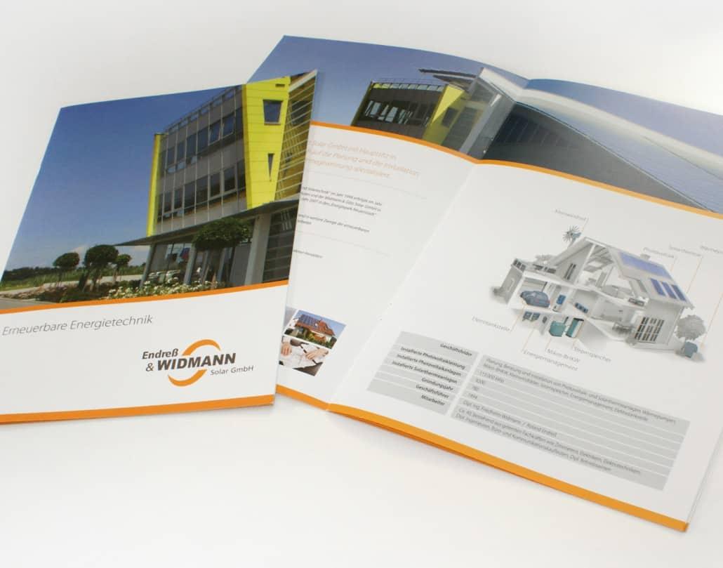 Fullservice Werbung für Widmann Solartechnik - Heilbronn