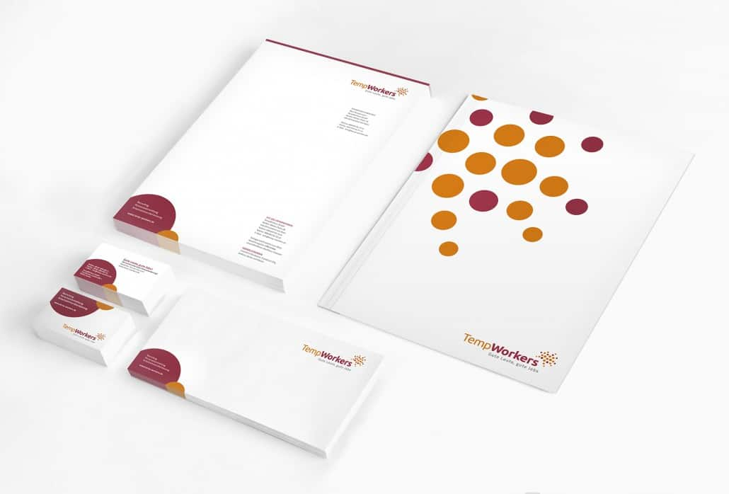 Corporate Design für TempWorkers