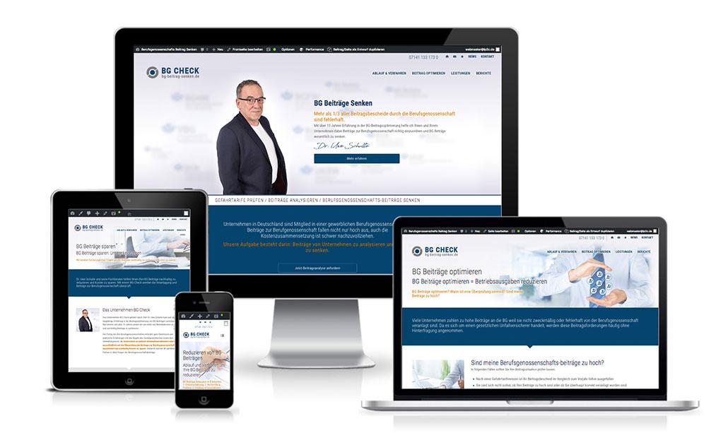 SEO optimierte Website