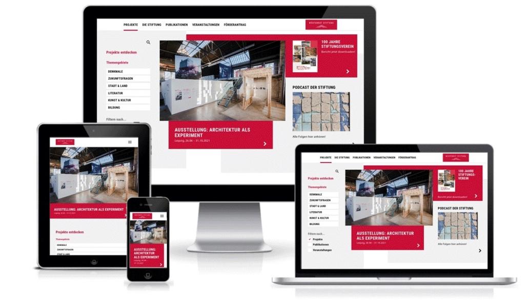 Website Relaunch Wüstenrot Stiftung