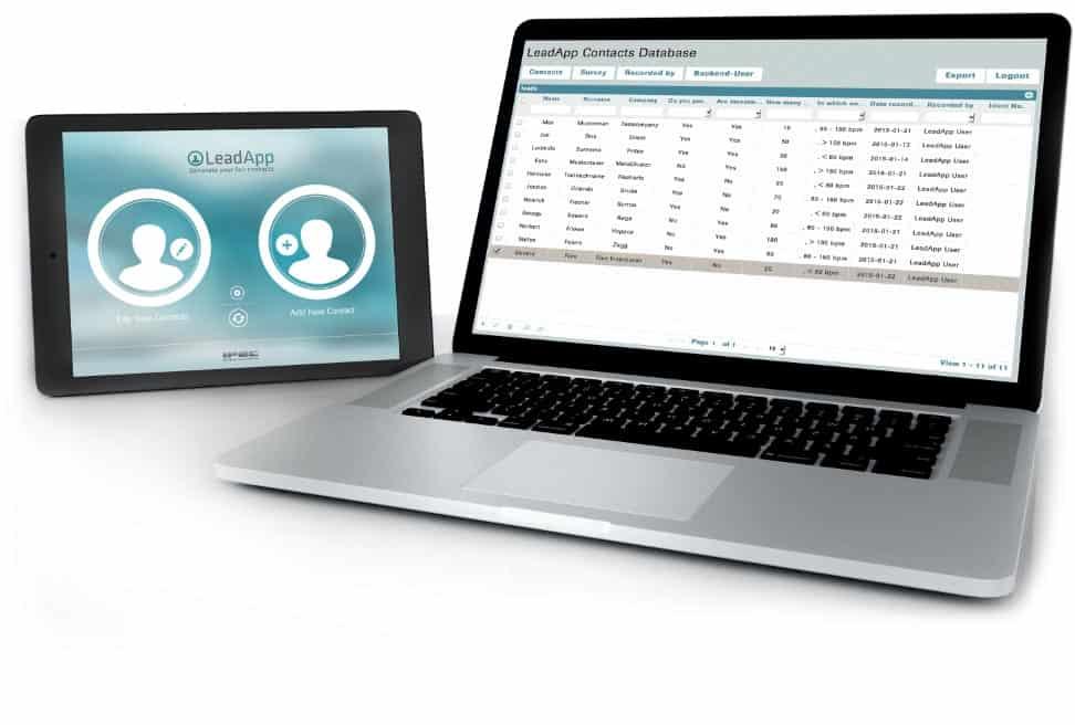 Lead App Backend zur Kontaktdatenerfassung