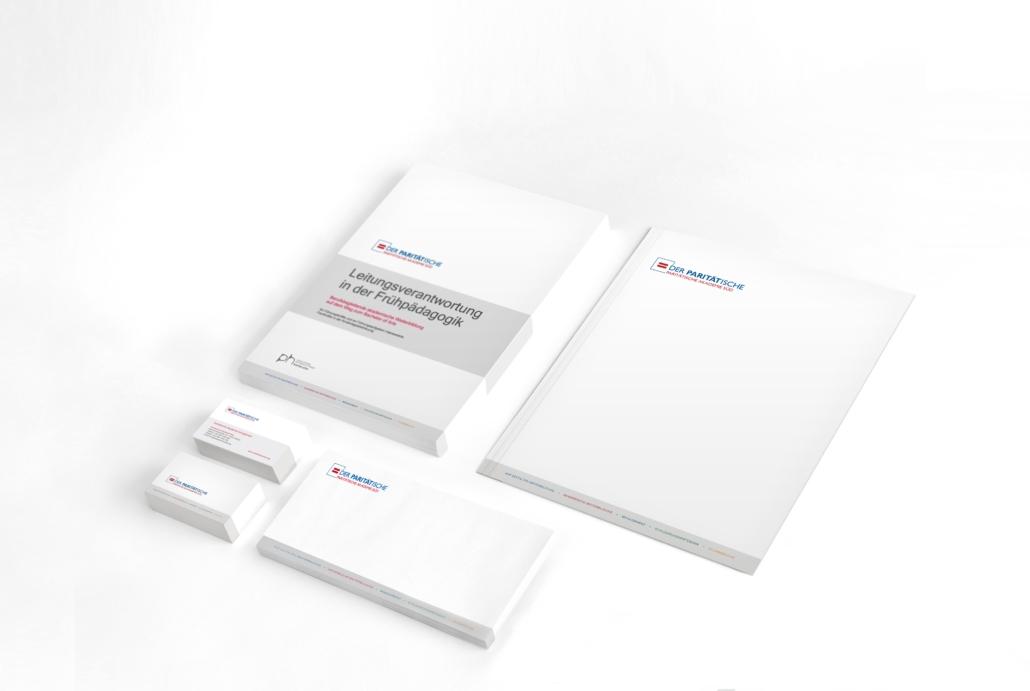 Corporate Design für Paritätische Akademie Süd in Stuttgart