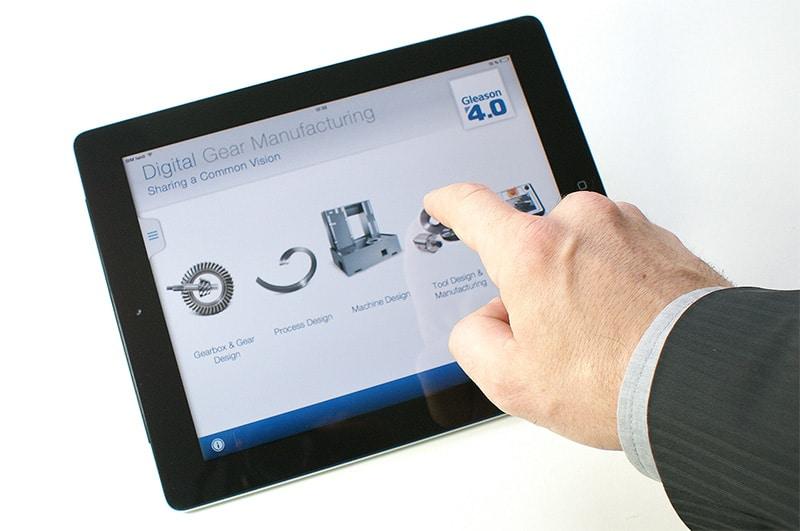 Gleason Messe App auf IPad und Touch