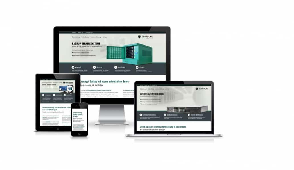Guardline Systems Webdesign und Programmierung Bild