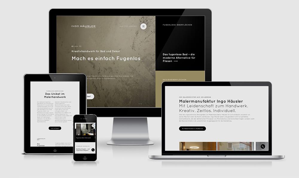 webentwicklung für Malerbetrieb Heilbronn