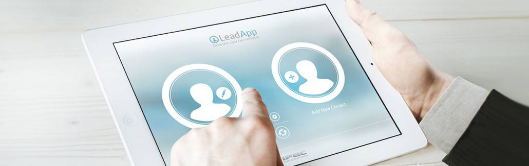 LeadApp Einsatz für Messen