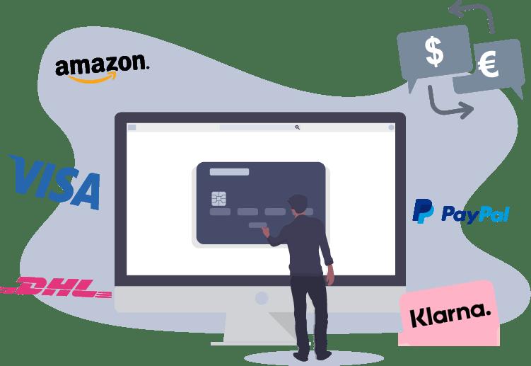 Zahlung und Webshop Schnittstellen