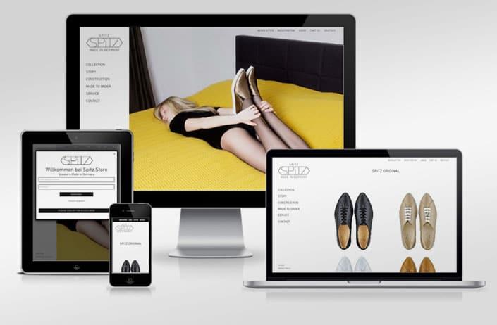 Webshop Bild des Webshops mit Woocommerce