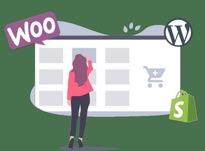 Woocommerce Onlineshop Systeme